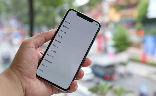 Những dấu hiệu đen màn hình thường gặp ở iPhone X