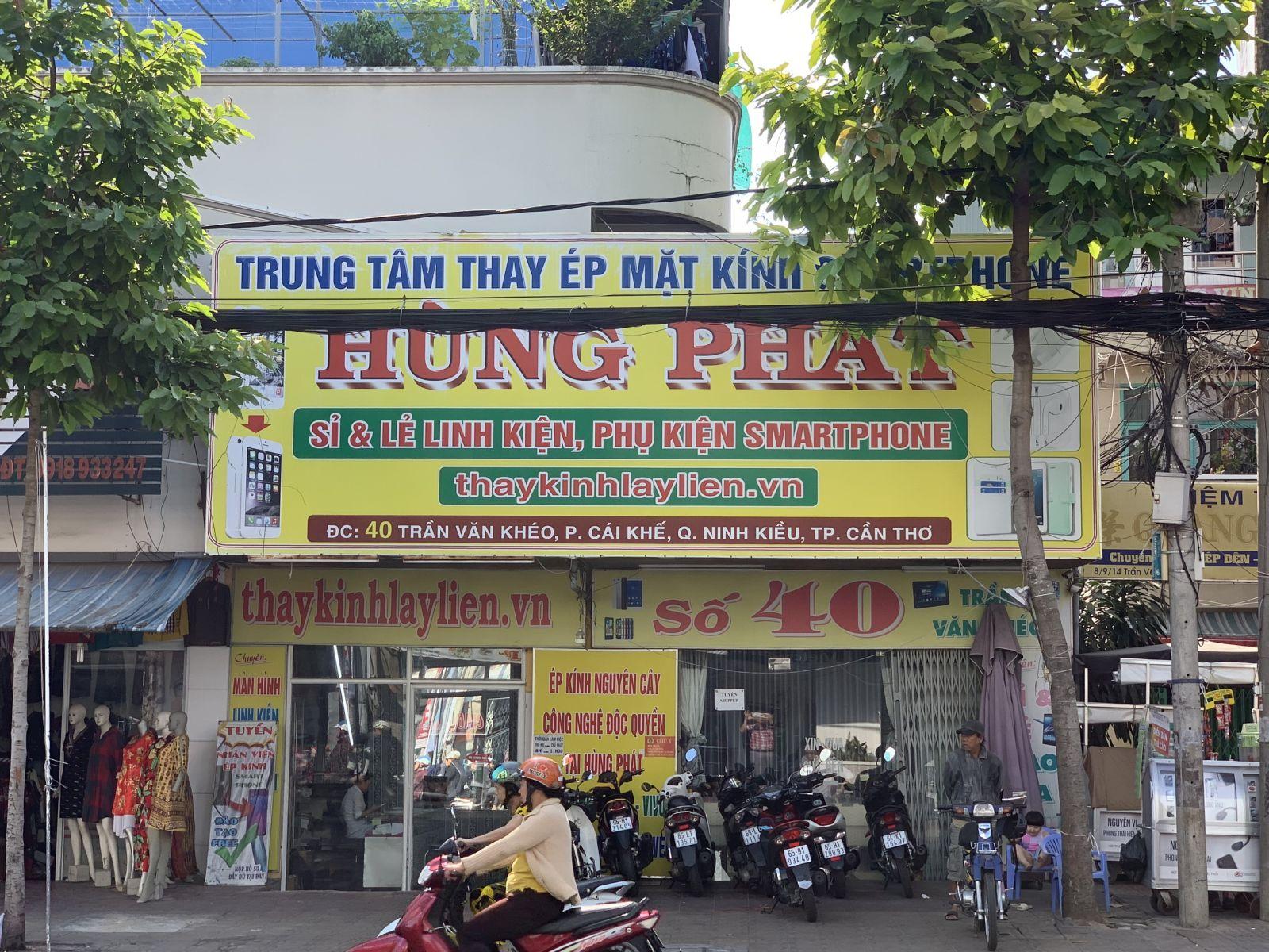 trung tâm điện thoại Hùng Phát