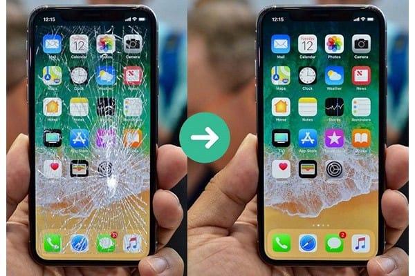 nên đi Ép kính màn hình iPhone