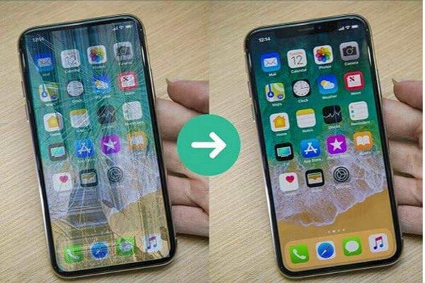 Cấu tạo của màn hình iPhone X