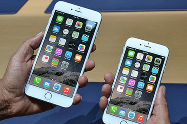 hiện tượng lỗi cảm ứng, loạn cảm ứng tất cả chiếc iPhone