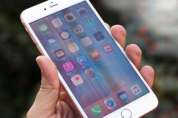 Hiện tượng sọc màn hình ở dòng iphone 6