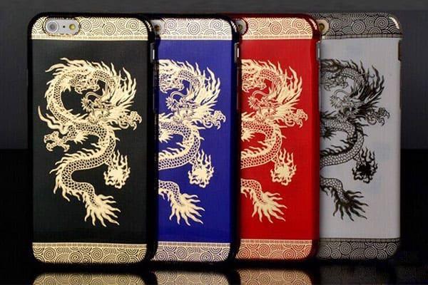 Ốp lưng khắc rồng