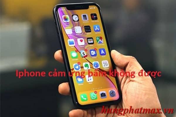 iPhone bị lỗi hư cảm ứng màn hình