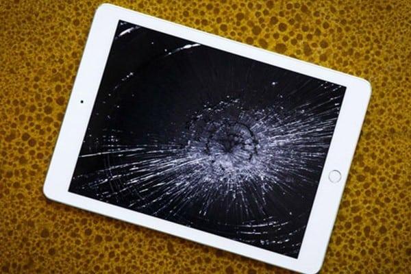 màn hình ipad 4 bể