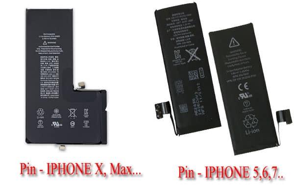 Các loại Pin của Apple có trên thị trường