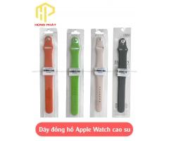 Dây đồng hồ Apple Watch cao su
