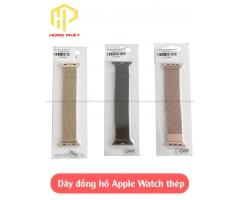 Dây đồng hồ Apple Watch thép