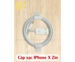 Cáp sạc IPhone X Zin